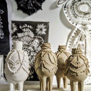 Sculpted Vases